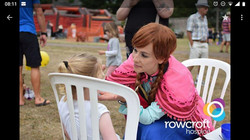 Anna at Rowcroft charity event