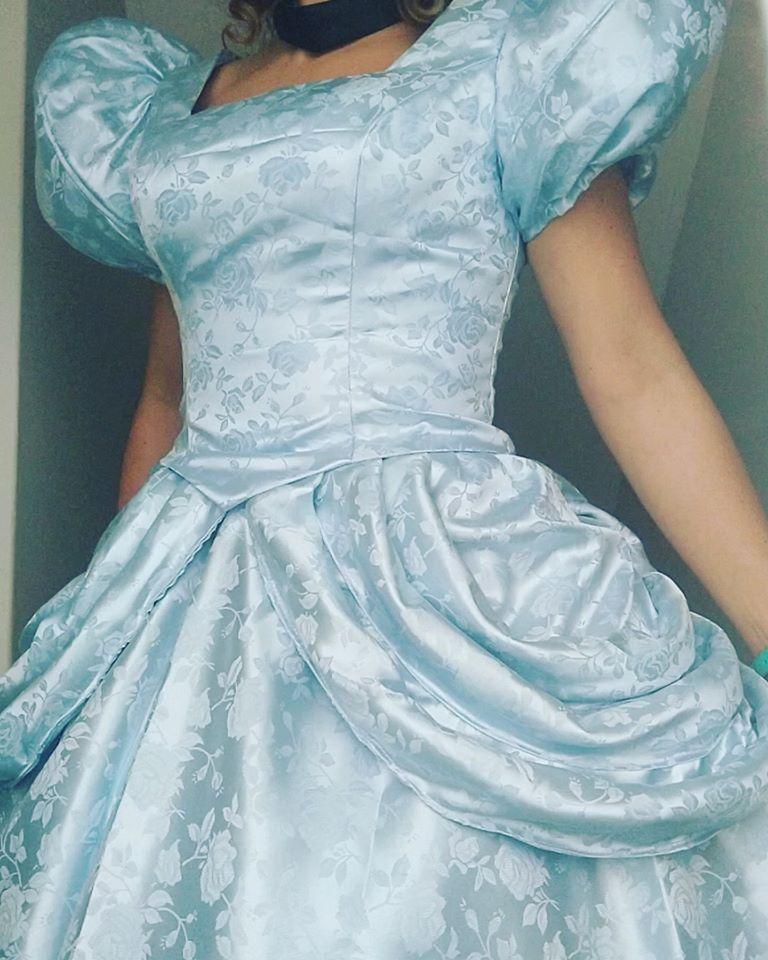 Cinderella's beautiful gown
