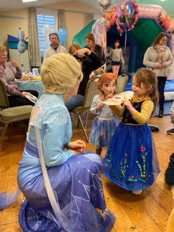 Excited to meet Elsa
