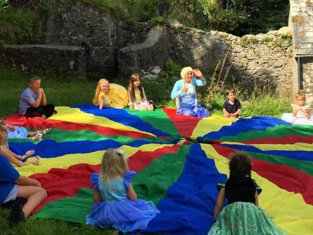 Warming up with Parachute Games