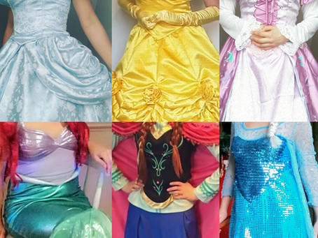 Princess Parties in Cornwall and Devon
