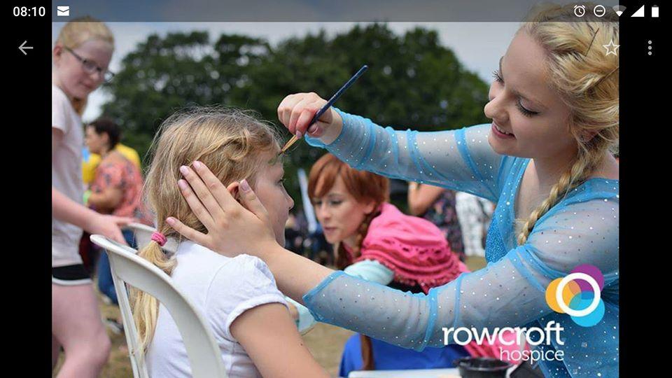 Elsa at Rowcroft charity event