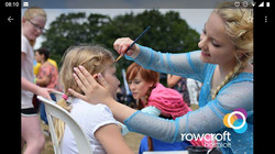 Elsa at Rowcroft charity event