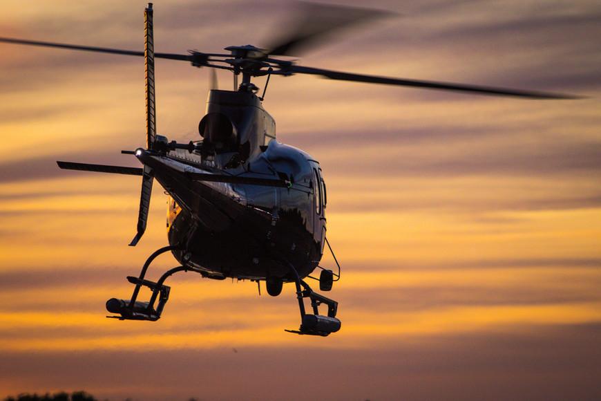 Sunset Helicopter Flight in Helsinki, He