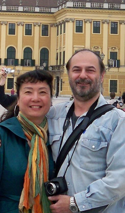Welcoming Dr Peter Baratosy and Jenny Chou