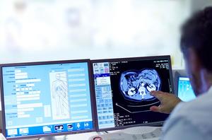 MRI scan of the body