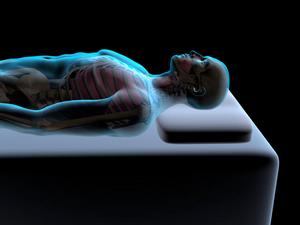 3D picture of body resting