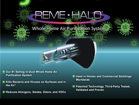 Got Flu? REME HALO™ Helps Healthy Breathing