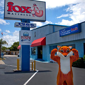 Fox Mattress store outside