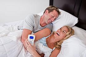 Couple Enjoying Fox Mattress Air Bed