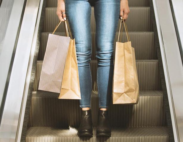 woman shopper