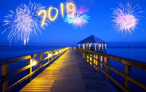 2019 new year fireworks