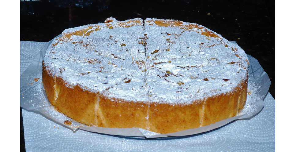 Cream Cherry Amaretti Crostata