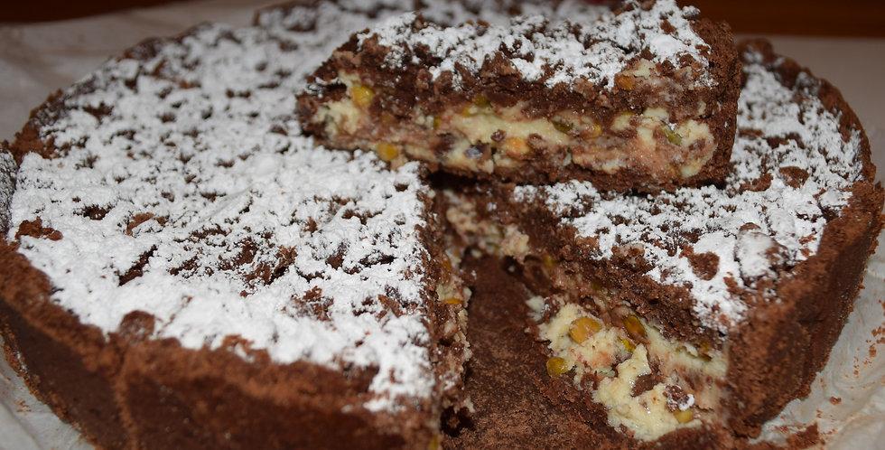 Ricotta Cocoa Crostata