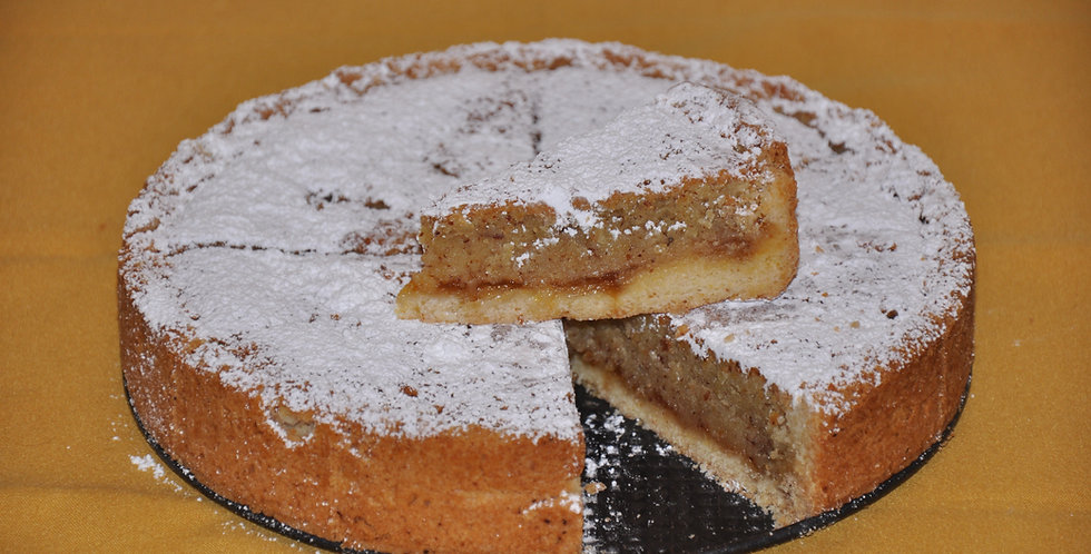 Frangipane Crostata with Apricots