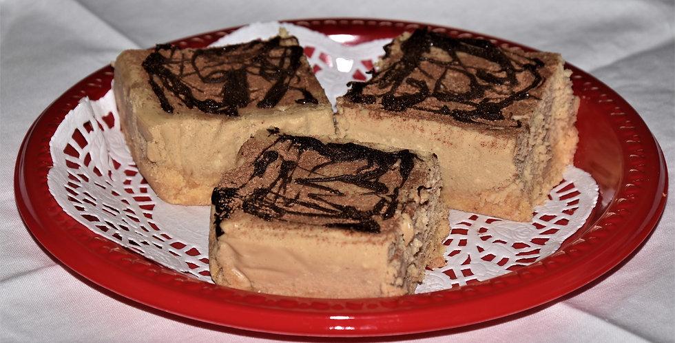 Tiramisù Cheesecake Bars