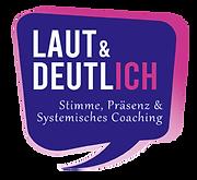 LAUT & DEUTLICH | Stimme, Präsenz & Systemisches Coaching