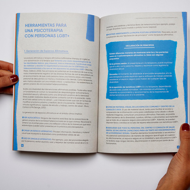 Guía Práctica para psicoterapeutas LGBT