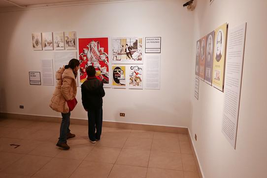 Exposición Historias dibujadas y billetes contados