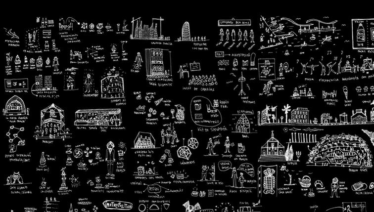 Ilustraciones de Barcelona