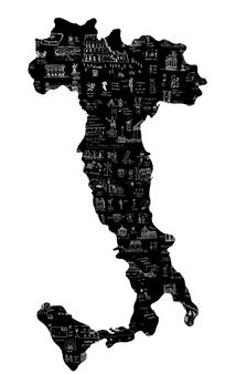 Ilustraciones de Italia