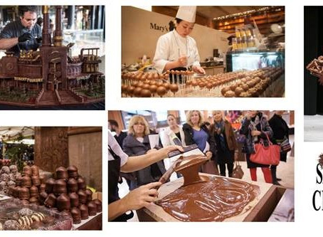 Salon du Chocolat Coming to NYC