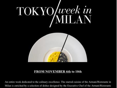 Tokyo Week in Milan at the Armani/Ristorante