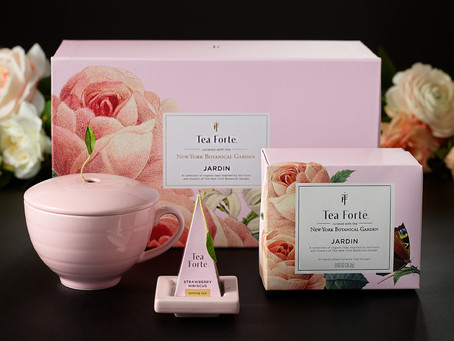Tea Fortē Gift Set Collaboration with NYBG