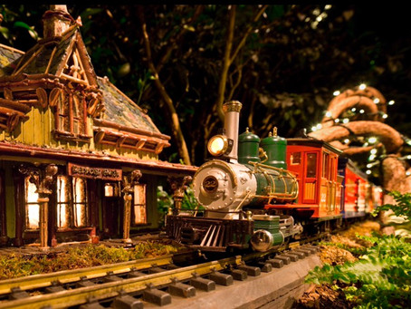 NYBG's 28th Annual Holiday Train Show