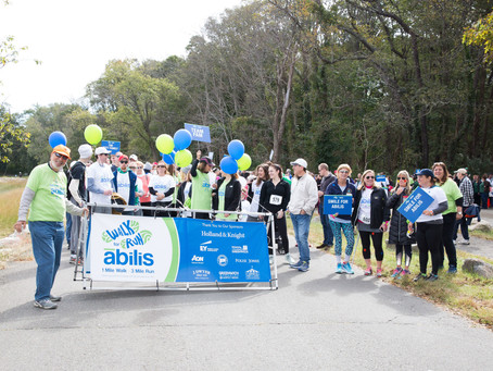 Walk/Run for Abilis at Greenwich Point Park October 20th