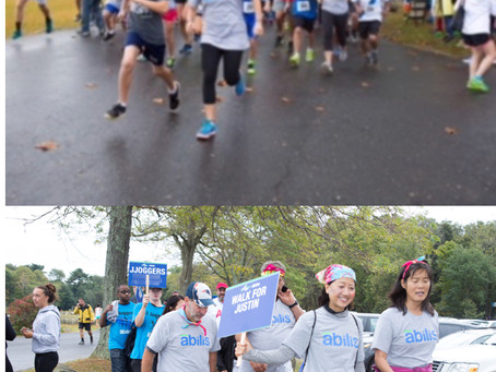 October 14thWalk/Run for Abilis at Greenwich Point Park