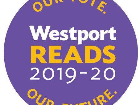 The Westport Library Announces Launch of 2019-2020 WestportREADS: Our Vote. Our Future.