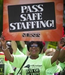 New York City Health and Hospitals Corporation Rally for Safe Staffing and Fair Funding