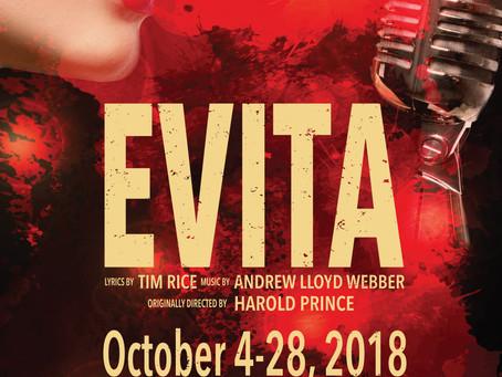"ACT of ConnecticutPresents ""Evita"" in October!"