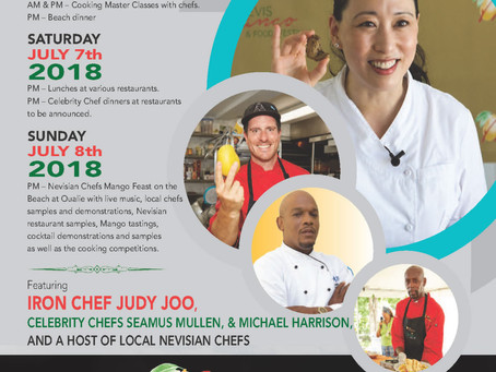 Foodies: Mark Your Calendars for the2018 Nevis Mango Festival