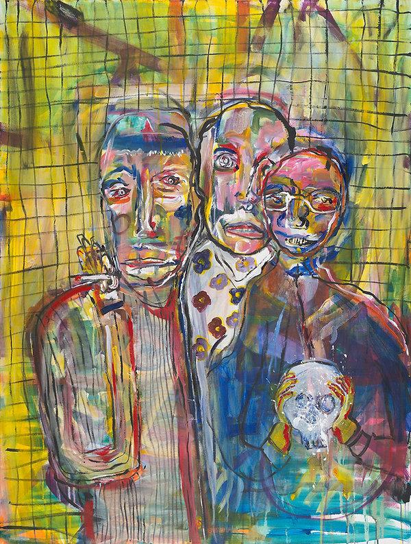 Portrait of Todd Loewen, Pat Rehn, and D