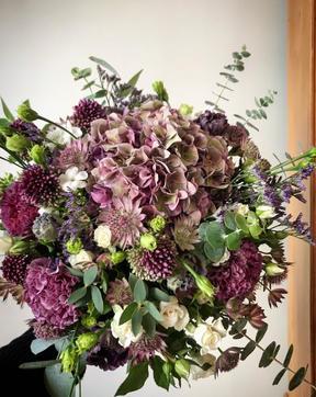 Bouquet Violine