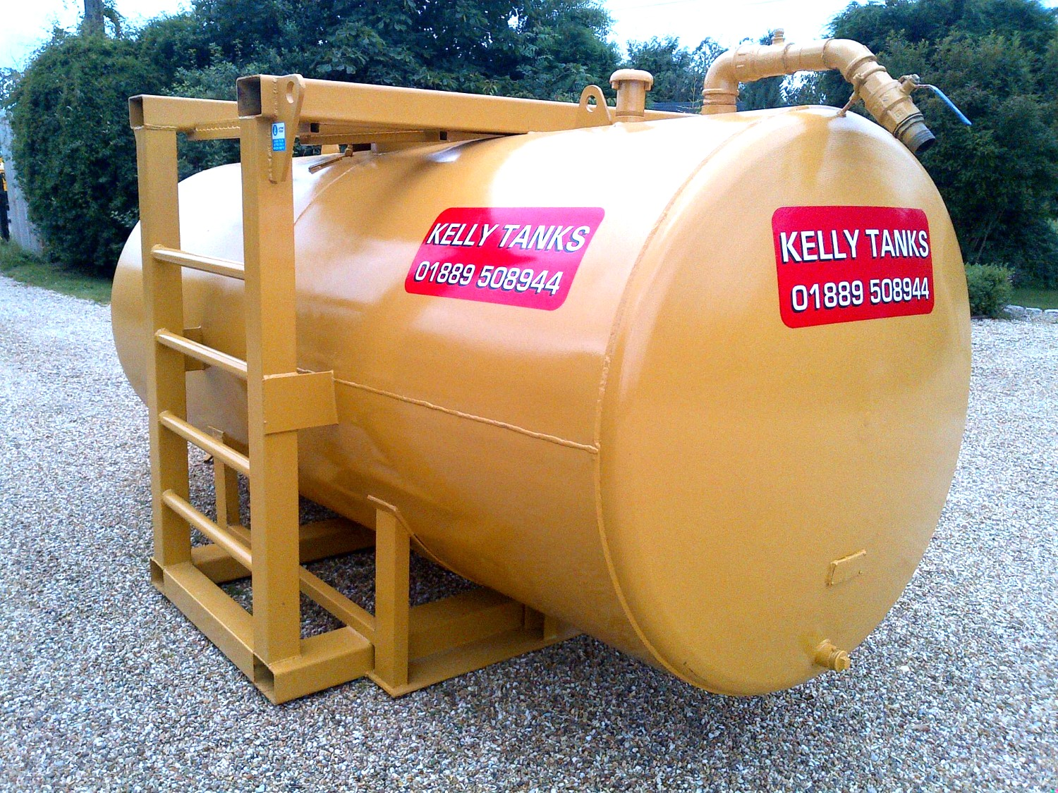 Kelly Tanks Water Treatment Tank