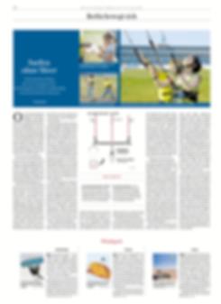 Kiteflow in Berlin auf dem Tempelhof kiteschulung mit der Berlinr Zeitung