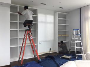 PROGRESS - Living Room Built-ins