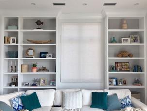 AFTER - Living Room Built-ins
