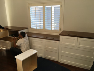 PROGRESS - Master Bedroom Built-ins