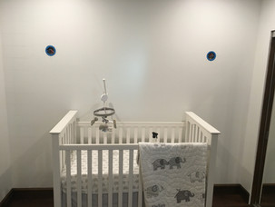BEFORE - Nursery Accent Wall