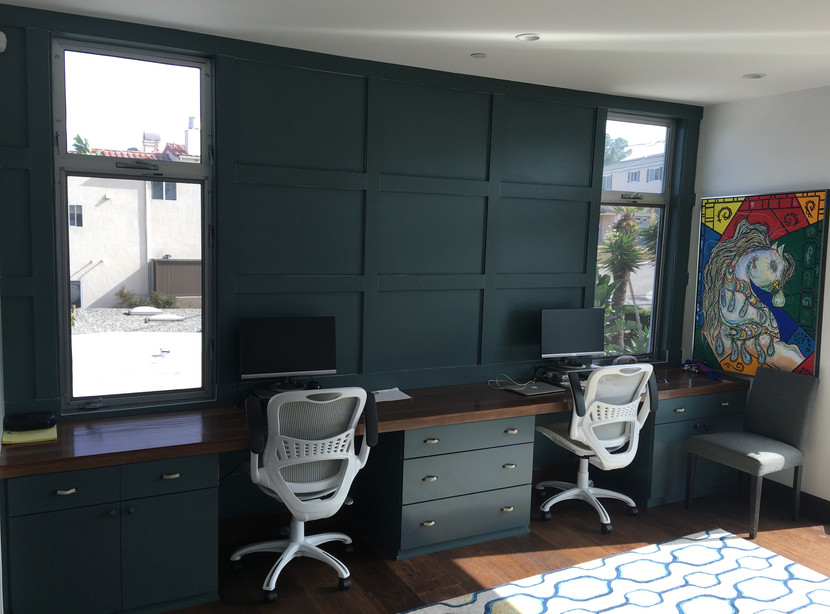 AFTER - Couple's Home Office