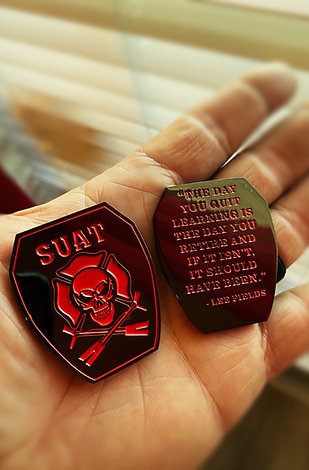 SUAT Challenge Coin