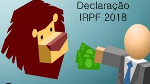 Programa do IR 2018 já está liberado