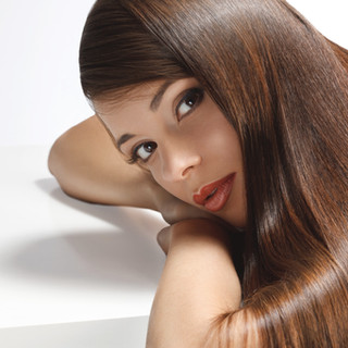 Keratin Smoothing Treatment   Price is dependent upon hair volume and length and starts at $350  Keratin Smoothing Treatments are ideal for straightening hair without damaging your hair follicles and concentrate on removing frizz, repairing damage, and improving the overall appearance of your hair.  Keratin is a protein that naturally exists in your hair. The product is applied using the heat of a flat iron tool to seal it in, a process that takes about 90 minutes or longer (depending upon your hair length).  For individuals who usually style their hair straight, these treatments shorten blow-drying time by 40-60% and results last for 2-3 months.