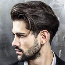 Men's Hairstyling Price: From $50  I am current in all of the latest hairstyling techniques, including razor cutting, which is ideal for texturing and thinning out thick hair that is difficult to manage and style. I also specialize in styling curly hair and prefer to cut curly hair when it's dry  - this enables me to better assess the balance and shaping of the cut.