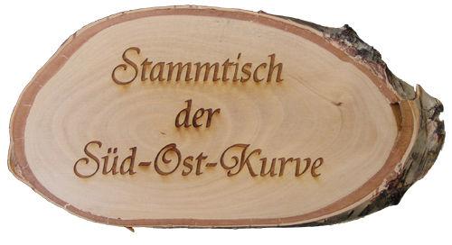 Birkenholzschilder