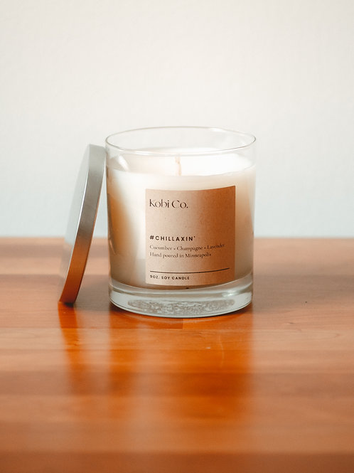 #Chillaxin Luxury Candle (9 oz.)